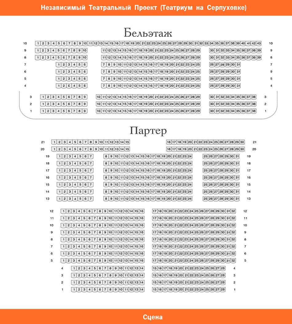 Схема театра клоунады дуровой