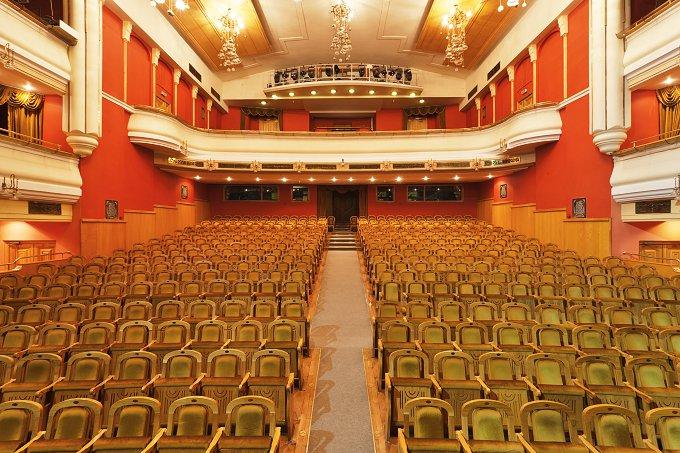 Новая опера · Зрительный зал