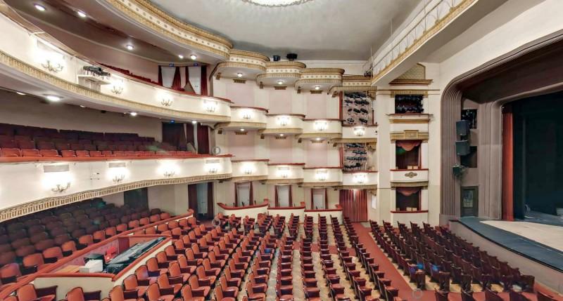 Вахтангова театр схема зала